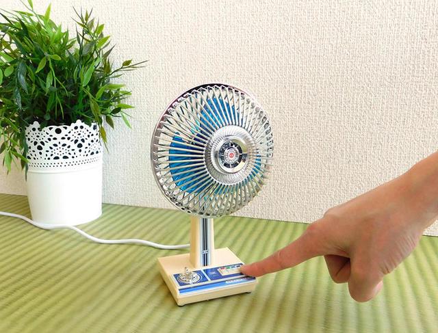 【新製品】レトロなミニチュア扇風機「昭和扇風機」|