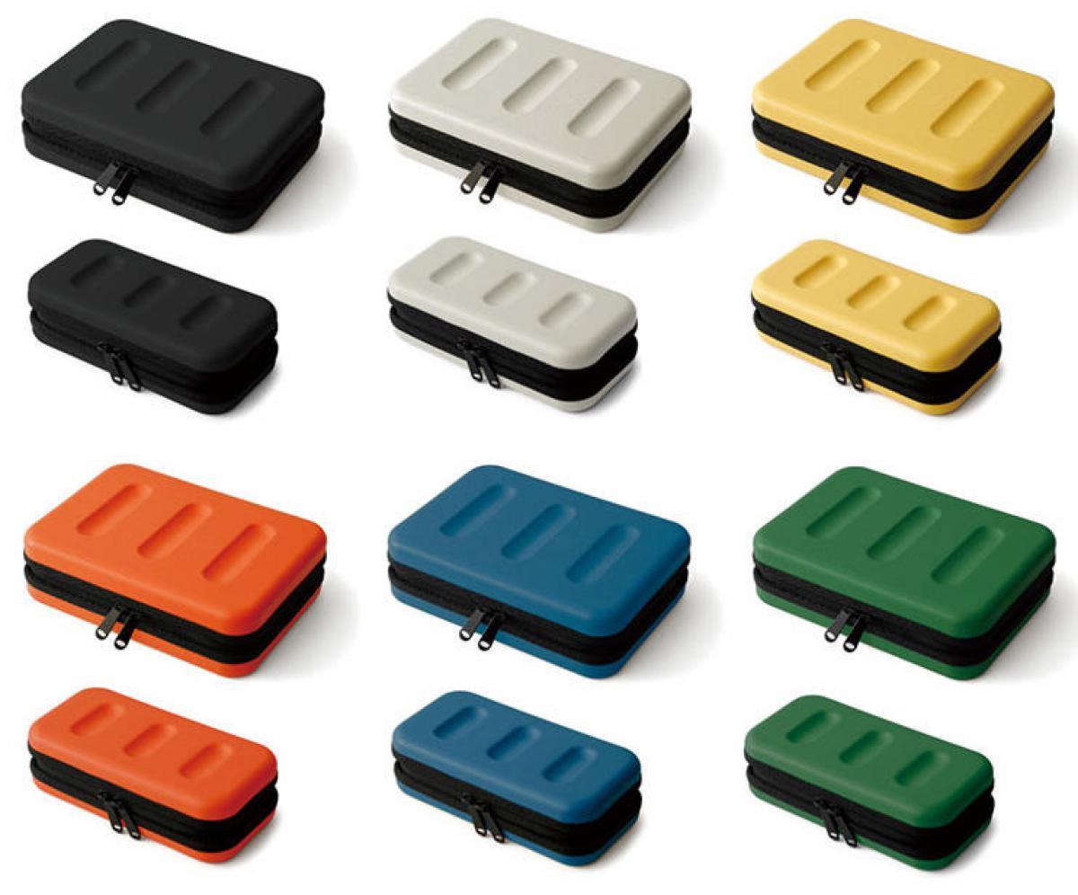 文具の奥深い魅力を伝えるWebマガジン【新製品】モバイルガジェットや電子機器収納に適した収納ケース